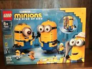 Lego Brick-built Minions And Their Lair 75551 The Rise Of Gru Despicabe Me