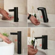 Basin Tap Faucets Touch Free Sensor Hot Cold Water Mixer Kitchen Bathroom Spout