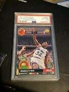 1992-93 Upper Deck All-division Team Shaquille Oand039neal Ad1 Psa Graded Rookie Hof
