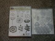 Stampinand039 Up Retired Cling Stamp Set Oh So Eclectic Bundle