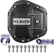 New Dana 60 Yukon Hardcore Iron Differential Cover - D60 Front And Rear - Yhcc-d60