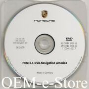 2006-2008 Porsche 911 4s S Turbo Cayenne And S Pcm 2.1 Navigation Dvd U.s Can Map