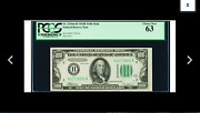 St. Louis Fr. 2154-h 100 1934b Mule Federal Reserve Note. Pcgs Choice New 63