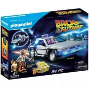 Playmobil Back To The Future Delorean Set New 2020 May Set