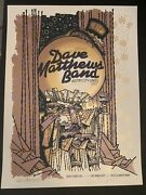 Dave Matthews Band Signed Dmb Burwell Austin City Limits Print Poster 2009 Acl