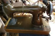 Westinghouse New Home Light-running Sewing Machine 1889 Electric