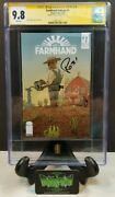 Farmhand 1 Ashcan Variant Cgc Ss 9.8 Signed Rob Guillory Nm/mt 1st Amc Option