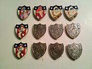 Rare Offer Patriotic Disney Characters Bunch Of 12 Pins Wdw 2013 Hm Series
