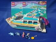 Lego Friends Dolphin Cruiser Set 41015 With Instructions, Missing Several Pieces