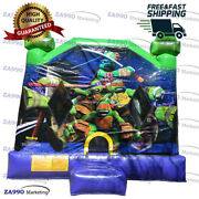 20x16ft Inflatable Teenage Mutant Ninja Turtles Bounce House With Air Blower