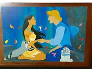 Disney Pocahontas John Smith Le Series Music Box And Fossil Watch