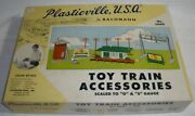Plasticville U.s.a. Toy Train Accessories No. 5400 By Bachmann