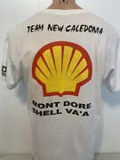 Team New Caledonia Mont Dore Shell Va'a Outrigger Canoe Paddle L Large T-shirt