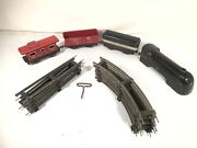 Marx Mercury Vintage O Gauge Train Set New York Central 556 Caboose Made In Usa