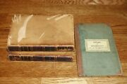 Atlas To Marshalland039s Life Of Washington 10 Rev War Maps And 1838 Leather Bound Set