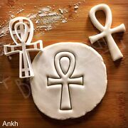 Egyptian Ankh Cookie Cutter Egypt Artifact Hieroglyph Ancient Pharaoh Biscuit