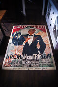 Roman Dand039un Tricheur 1936 4x6 Ft Vintage French Movie Poster Rerelease 1970and039s