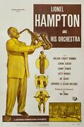 Lionel Hampton And His Orchestra 1949 One Sheet Poster For Jazz Short Film