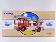 Corgi 97353 Fire Engine Diecast 150 Scale Aec Turntable Ladder/ New In Box