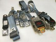 90 91 92 93 94 1991 Lincoln Town Car Complete Rear Seat Belt Retractor