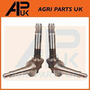 Pair Front Spindle Lh And Rh Axle Spindles For Fordson Major Super Power Tractor