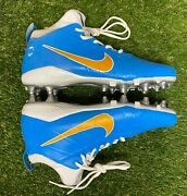 Customized 1of1 Nike Field General 3 Elite Cleats 833390 100 Size 11.5 472