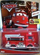 Disney Pixar Cars Red The Fire Truck Diecast 95 Returns Theme 5/7 Deluxe Engine