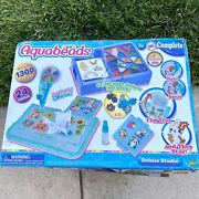 Toys-aquabeads Deluxe Studio Damaged Packaging