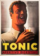 Original Vintage Poster - Gros M. - Tonic Appetizer Digestive - Contratto - 1938