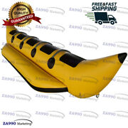 16x4.9ft Inflatable 5 Passenger Flying Fish Banana Boat Water Game With Air Pump