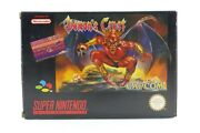 Demonand039s Crest Boxed + Instructions - Cib 100 Original For Super Nintendo / Snes