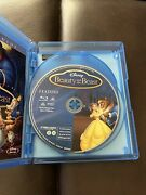 Beauty And The Beast Diamond Edition Blu Ray Holographic Slipcover