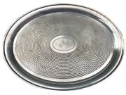 Vintage Oval Silver Plated Epns A1 Serving Tray Made In Sheffield England