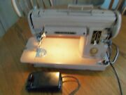 Singer Sewing Machine Vintage Model 301a With Foot Peddle With New Power Cord
