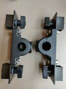 Pair Of Cannon Deck Mounts - Lake Troll Parts - Free Shipping