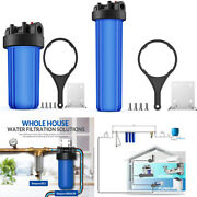 10 /20 4.5 Solid Big Blue Housings For Whole House Water Filtration System