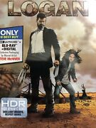 Logan 4k Ultra Hd Hdr Blu-ray Collectible Steelbook Best Buy Exclusive New Seal