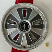 C 1 1965- 1966 Ford Mustang Gt Hubcaps Vintage Wheel Cover Mustang Center Cap