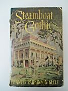 Steamboat Gothic Frances Parkinson Keyes-1952-messner Ny-book Club-dust Jacket