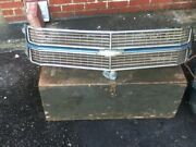 Chevy Chevelle Grill Classic Car Chevrolet Front Used Vintage Year
