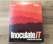 Inoculate It - Complete Virus Protection Computer Associates New And Sealed