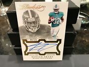 Panini Flawless Rookie On Card Autograph Dolphins Kenyan Drake 04/25 2016