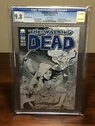 The Walking Dead 100 Comixology Cgc 9.8 Ottley Sketch Cover | Hard To Find