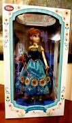 Disney Frozen Fever Limited Edition Doll 17 Anna New