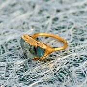 Natural High Fire Opal Antique Fashion Stackable Party Wear Gemstone Rings
