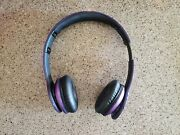 Beats By Dr. Dre Solo Hd Headband Headphones Only No Case Or Aux Cable- Purple