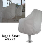 Outdoor Yacht Ship Boat Captain Seat Cover 210d Waterproof Protective Covers New