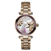 Guess Watch Gc Y21002l3 Lady Chic Women's Stainless Steel Rose Gold Wrist Analog