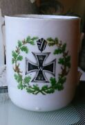 Antique Cup First World War Patriotic Cross Germany 1914
