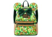 2020 Disney Parks Minnie Mouse The Main Attraction Tiki Room Loungefly Backpack